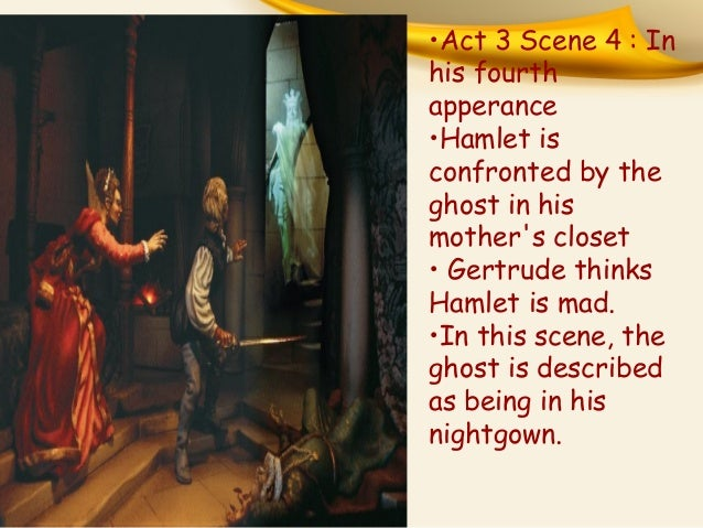 signifcance of the ghost in hamlet