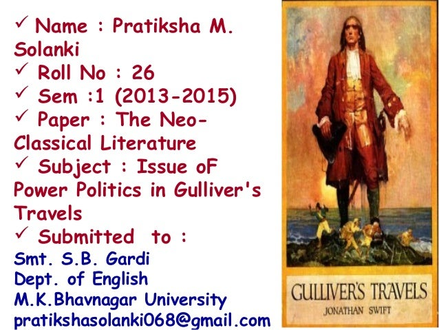  Name : Pratiksha M. Solanki  Roll No : 26  Sem :1 (2013-2015)  Paper : The NeoClassical Literature  Subject : Issue ...
