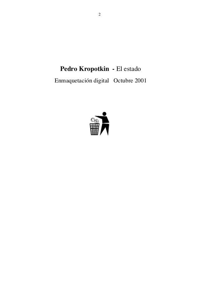 P. kropotkin   el estado Slide 2