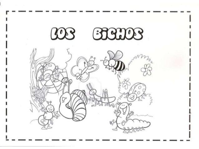 LOS BICHOS;PROYECTO INFANTIL