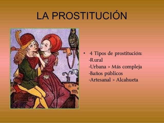 tipos de prostitutas prostitución rae