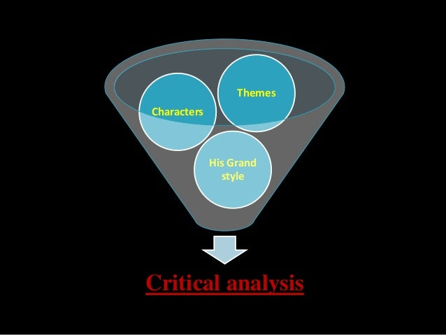 essays on critical analysis