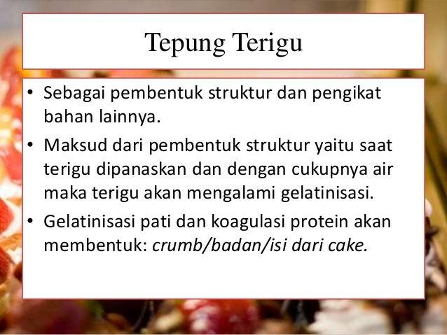 Pengertian Sponge Cake