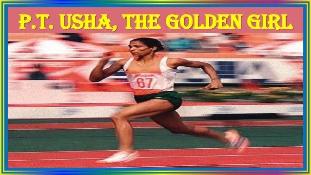 P.T. Usha, the Golden Girl
