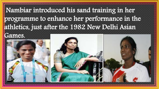 Sand training had enhanced the performance of many great athletes, from Edwin Moses to top flight Indian athletes like Mil...