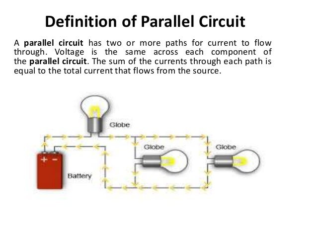 what is parallel circuit rh slideshare net
