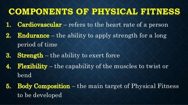 MAPEH 8 (Physical Education) Unit 1: Physical Fitness