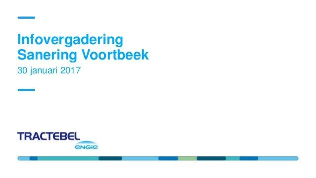 Confidential Restricted Public Internal 10/11/2016 KORTENBERG - Negenhoek 30 januari 2017 Infovergadering Sanering Voortbe...