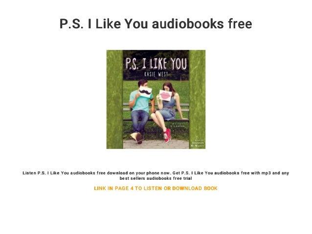 P S  I Like You audiobooks free