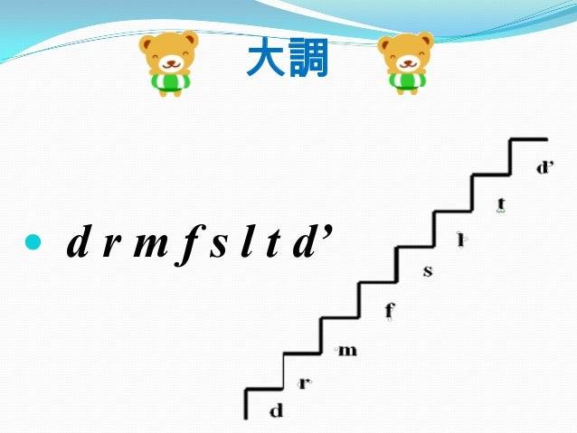  d r m f s l t d' 大調