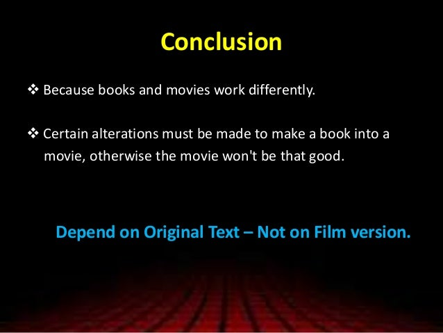 A comparison of the film and book frankenstein