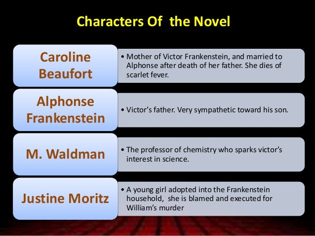 similarities between victor frankenstein and the monster essay Told from the perspective of victor frankenstein, the scientist who creates the  creature he then recoils from in horror, victor is the father who.
