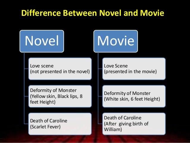frankenstein movie 2004 vs book