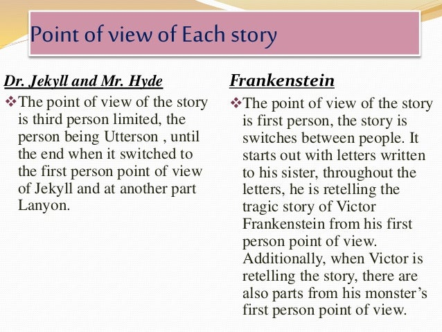 a comparison of dr frankensteins and dr jekylls work of science What do frankenstein and dr jekyll and mr hyde have to say about i need help with my school assignment what frankenstein and dr jekyll and mr hyde have.