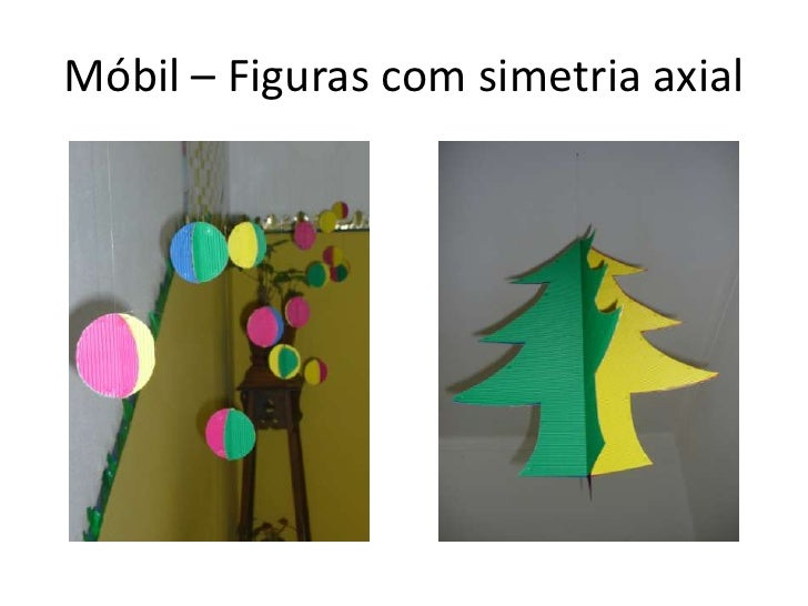 Móbil – Figuras com simetria axial<br />
