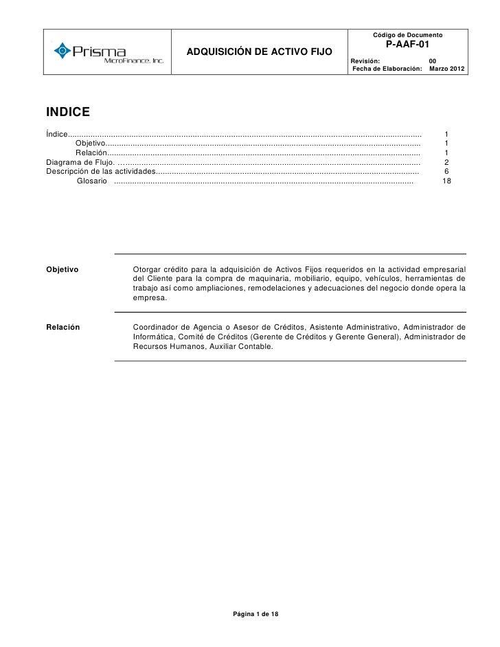 Código de Documento  o                                                                                                    ...