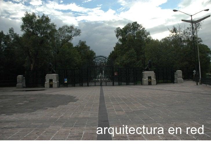 arquitectura en red