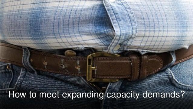 How to meet expanding capacity demands?
