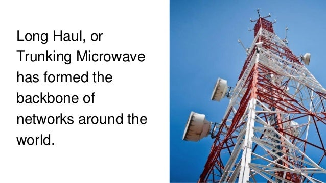 AVIAT NETWORKS HIGH CAPACITY, GUARANTEED • Multi-channel microwave systems are key for providing guaranteed high capacity ...