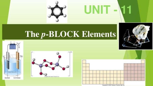 P-block elements (Properties of Boron)