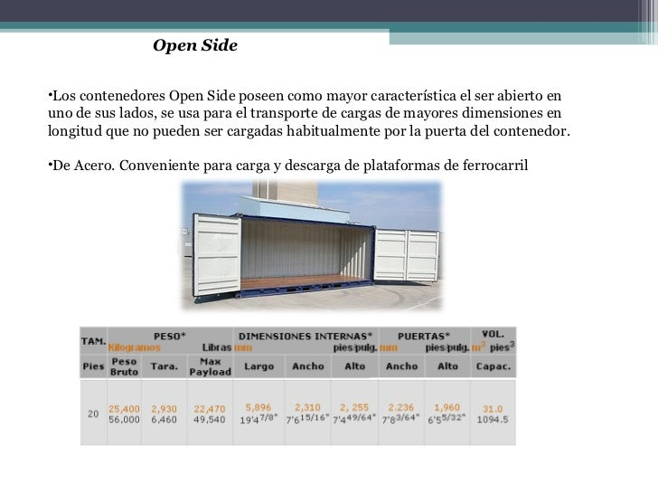 Container De 20 Pies Peso Optimizacion Envio Contenedores