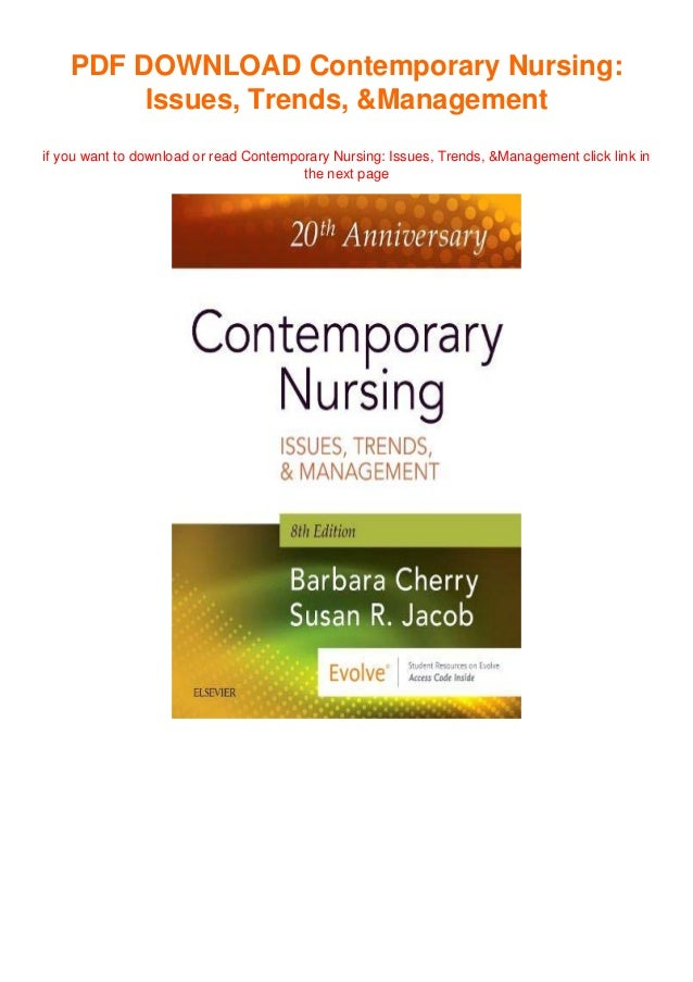 PDF DOWNLOAD Contemporary Nursing: Issues, Trends, &Management if you want to download or read Contemporary Nursing: Issue...