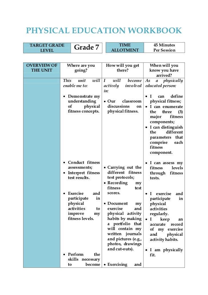 Grade 12 physical - Term paper Sample