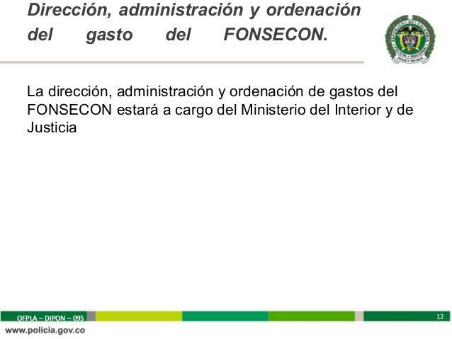 P i convivencia y seguridad for Direccion de ministerio de interior y justicia
