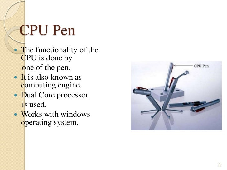 Pen style personal networking gadget package