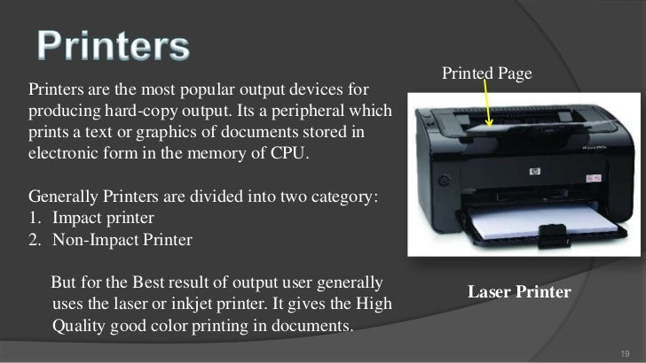 Impact printers ppt.