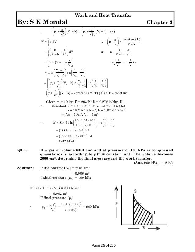 solution manual to basic and engineering thermodynamics by p k nag 4t rh slideshare net