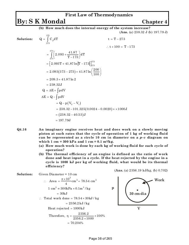 Solution manual to basic and engineering thermodynamics by p k nag 4t fandeluxe Image collections