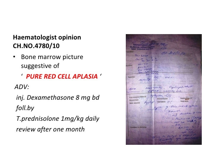pure red cell aplasia pdf