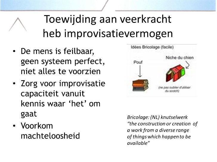 P. Noordhoek - Hoog betrouwbaar organiseren (HRO)