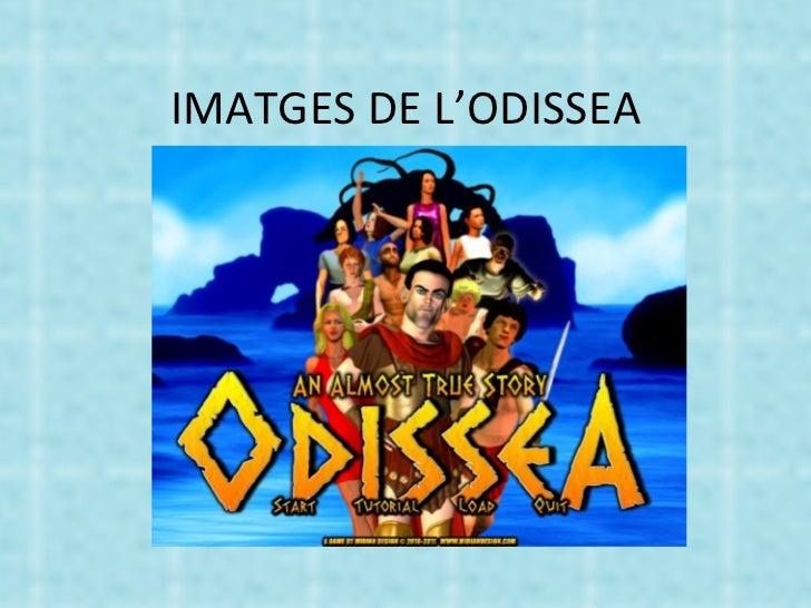 IMATGES DE L'ODISSEA