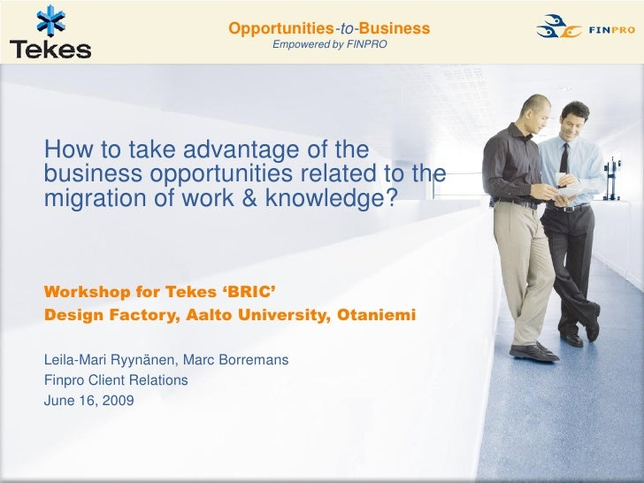 Construction                 Opportunities-to-Business                                    Empowered by FINPRO        How t...