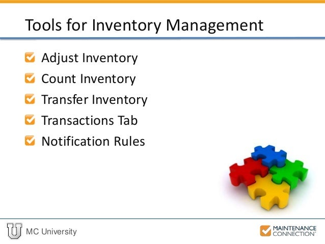 tool inventory management