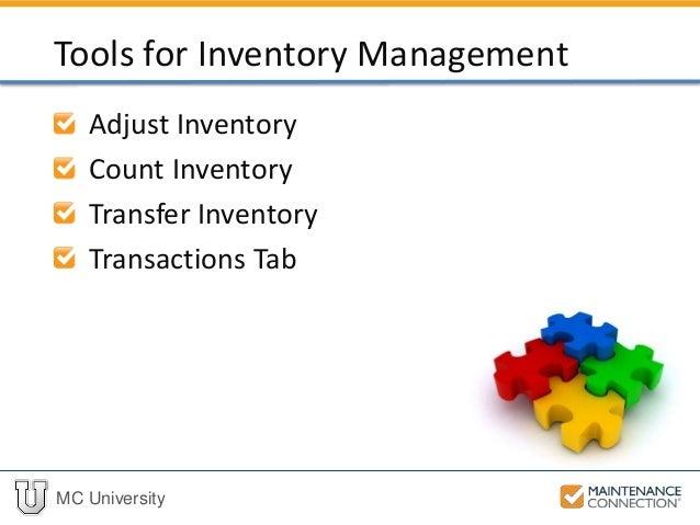P03 - Inventory Management Tools (MCU)