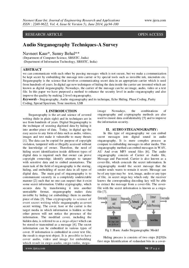 Navneet Kaur Int. Journal of Engineering Research and Applications www.ijera.com  ISSN : 2248-9622, Vol. 4, Issue 6( Versi...