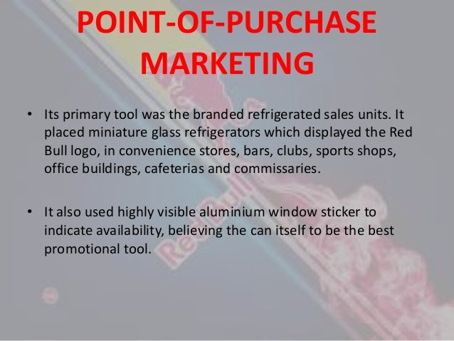 red bull marketing strategy Free essay: red bull mission statement: to be the premier marketer and supplier of red bull in asia,europe and other parts of the globe we will achieve this.