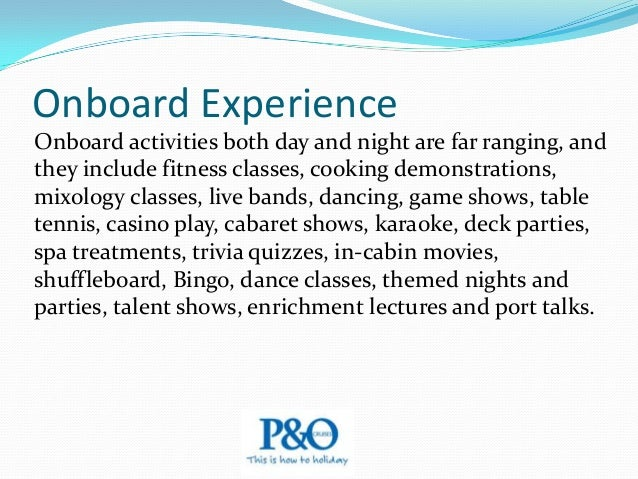 """Onboard Experience The ships no longer have formal nights; they've been replaced by """"cocktail"""" nights, usually one or two ..."""