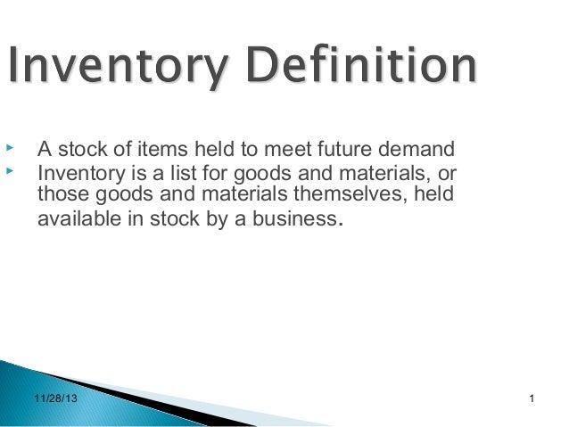 inventory proposal wal mart