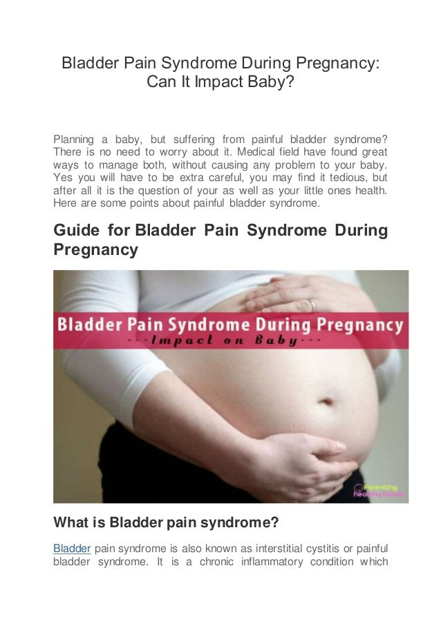 Cystitis in early pregnancy all methods of treatment