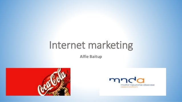 Internet marketing  Alfie Baitup