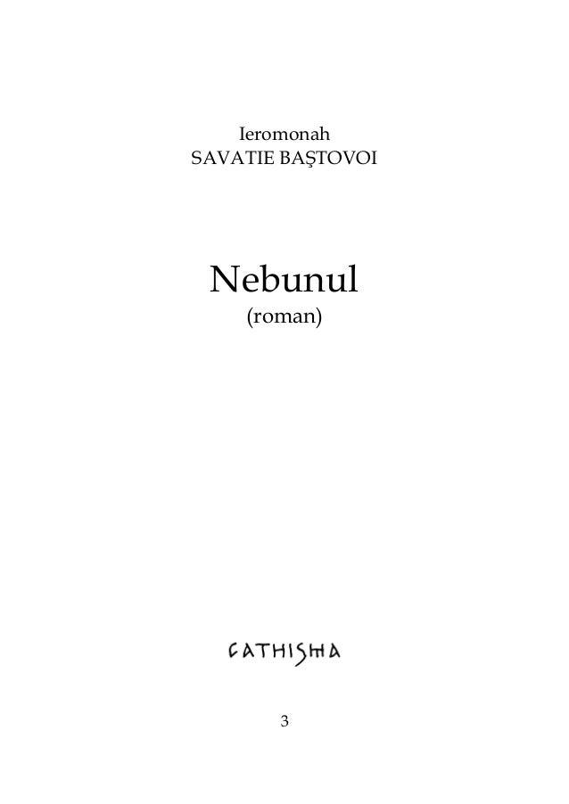 Ieromonah SAVATIE BAŞTOVOI Nebunul (roman) 3