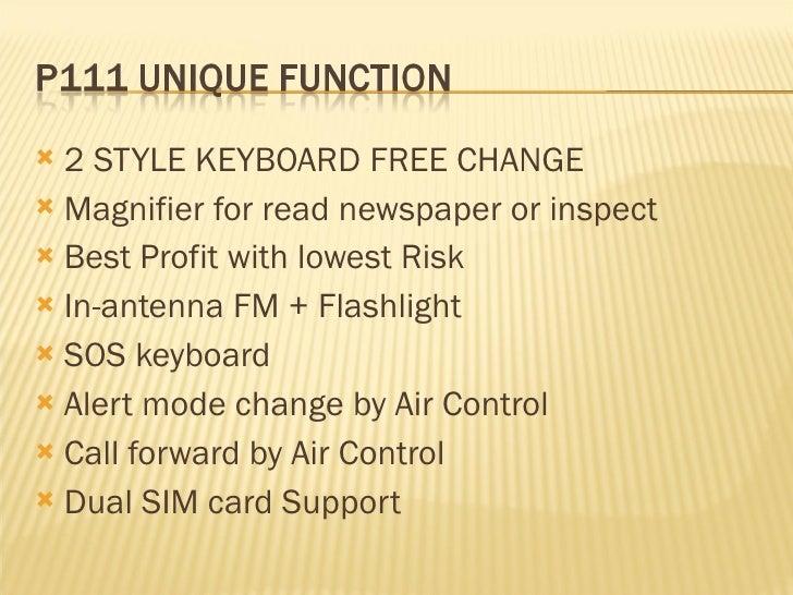 P111 introduction(SKD CELLPHONE) Slide 3