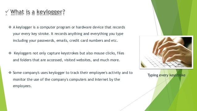Understanding Keylogger