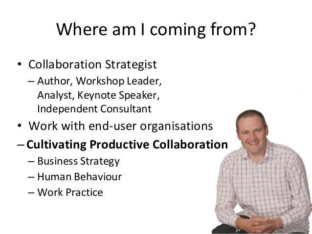 Social Factors in Collaboration Slide 2
