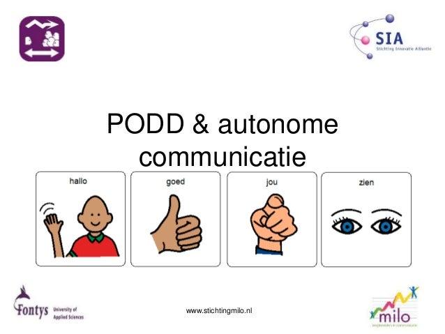 PODD & autonome communicatie www.stichtingmilo.nl