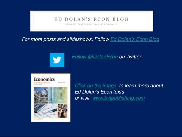 Click on the image to learn more about Ed Dolan's Econ texts or visit www.bvtpublishing.com For more posts and slideshows,...